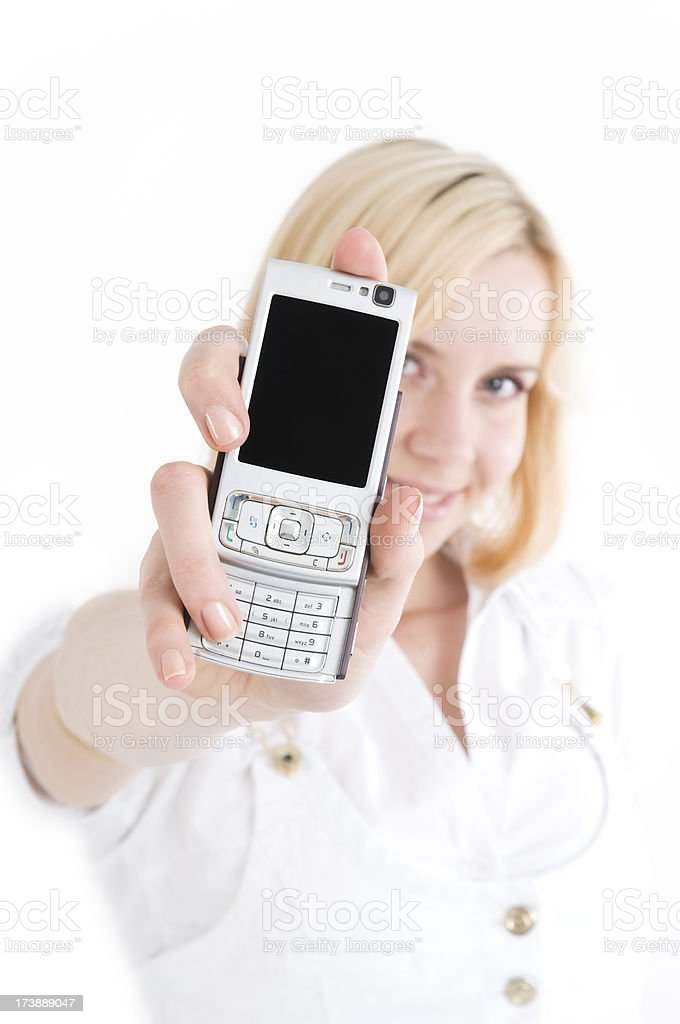 Call me. royalty-free stock photo