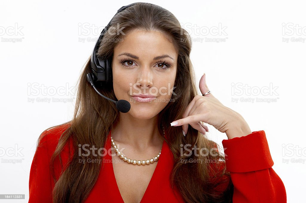 Call Me royalty-free stock photo