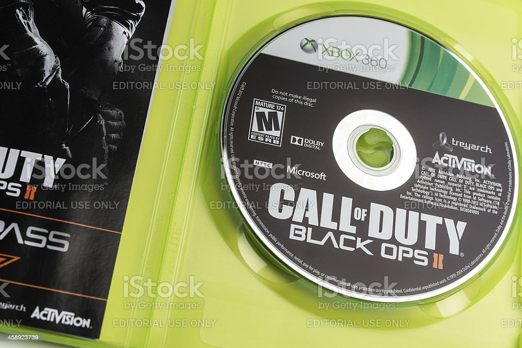 \'Halifax, Canada - November 13, 2012: Close up of the Call of Duty...