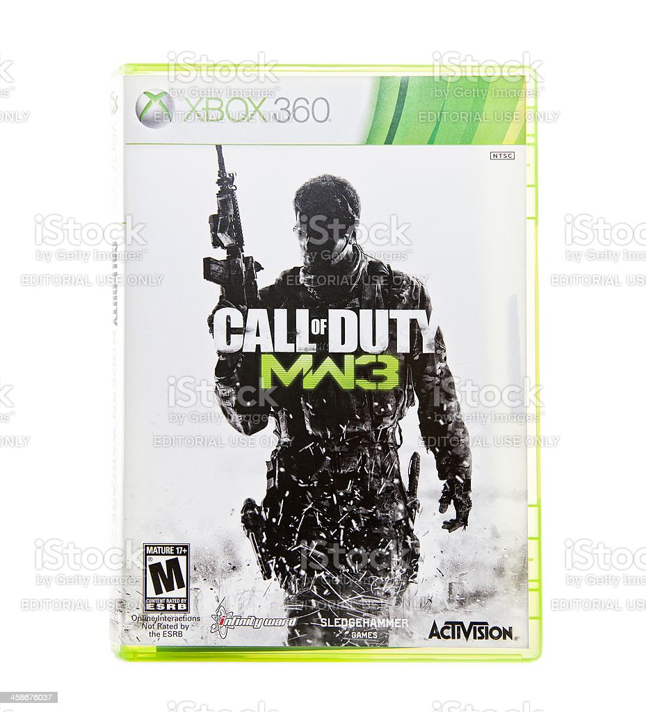 Call of Duty royalty-free stock photo