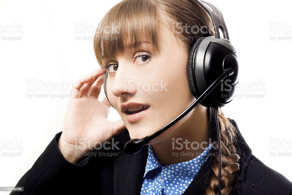 Llame al operador foto de stock libre de derechos