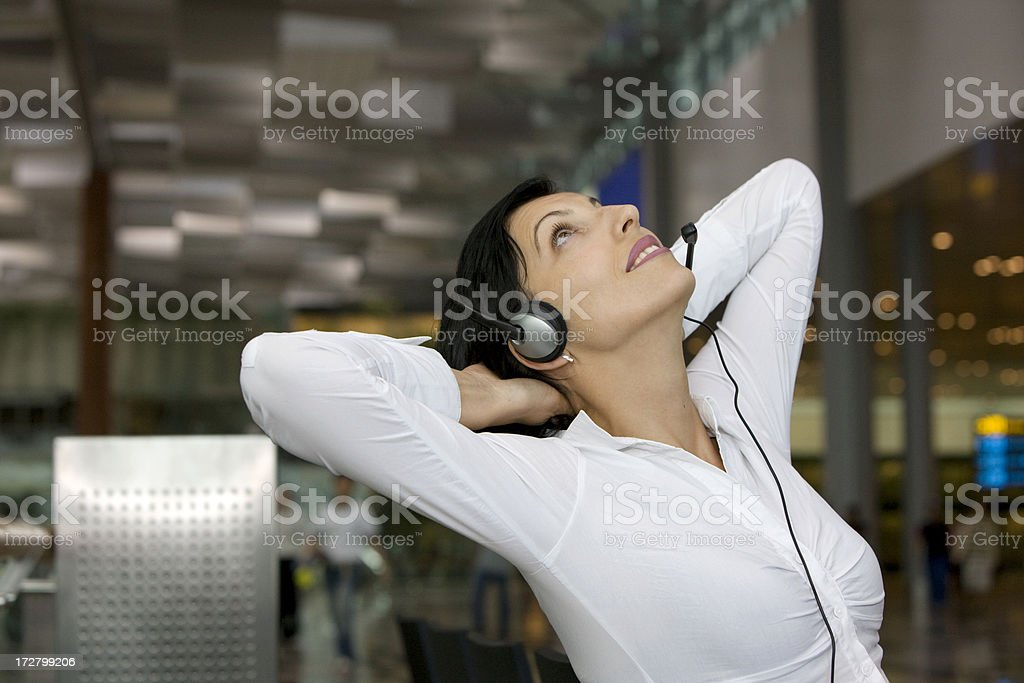 Call operator royalty-free stock photo