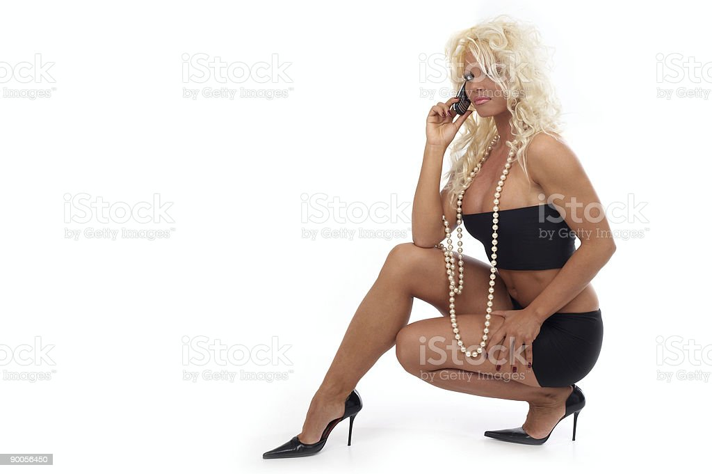 Call royalty-free stock photo
