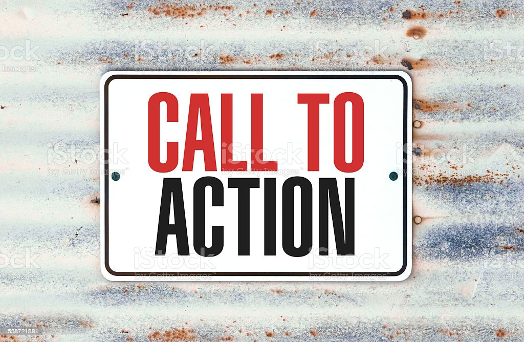 Call To Action stock photo