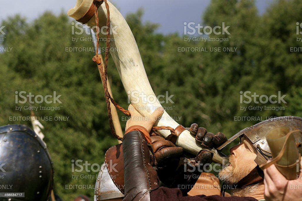 Call to arms royalty-free stock photo