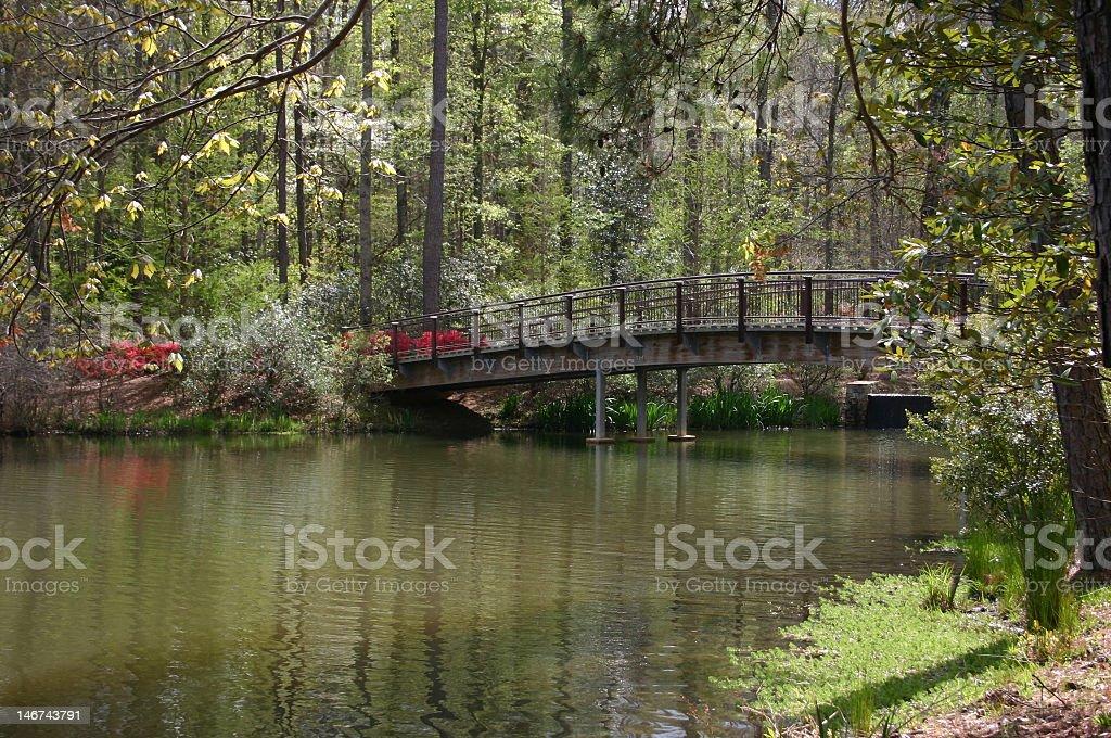Callaway bridge stock photo