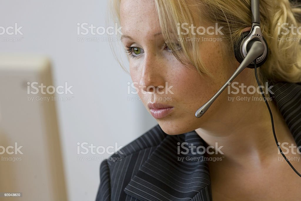 callcenter stock photo