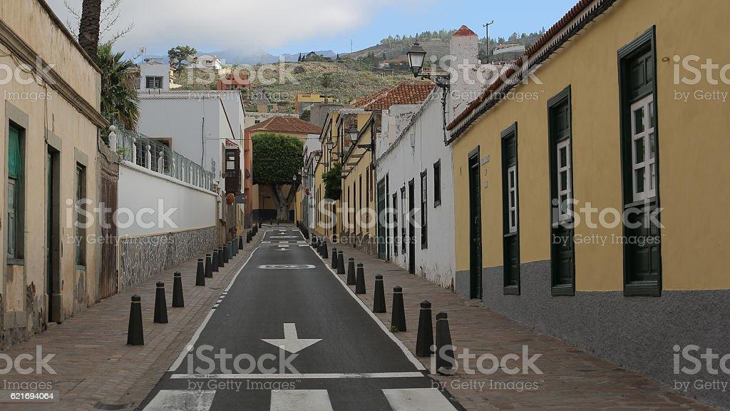 Calle Dominguez Alfonso, Arona, Santa Cruz de Tenerife stock photo