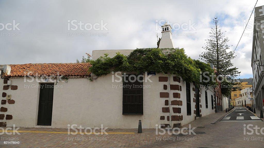 Calle Duque de la Torre, Arona, Tenerife stock photo