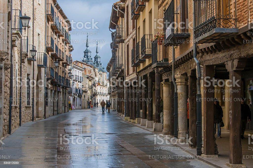 Calle Mayor stock photo