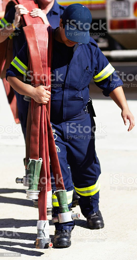 Called to duty stock photo