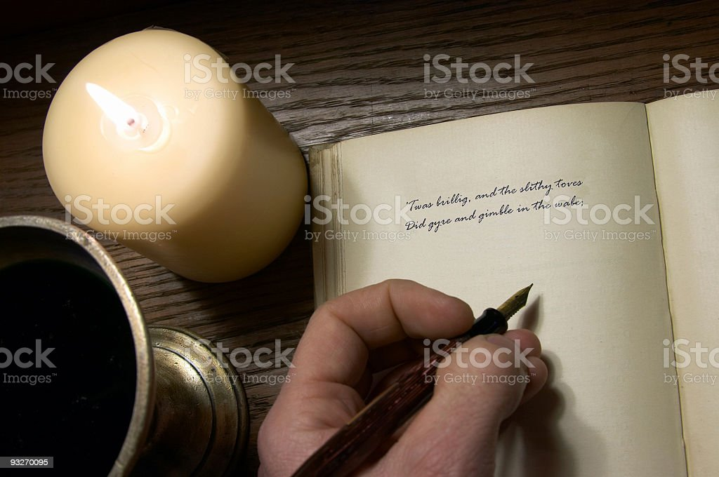Calligraphy #1 royalty-free stock photo