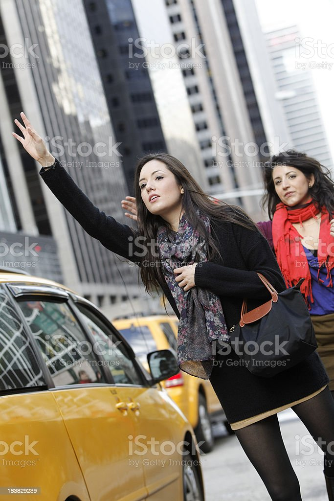 calling a cab stock photo