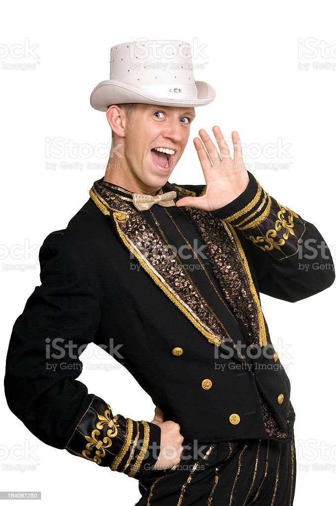 Calling all entertainers! royalty-free stock photo