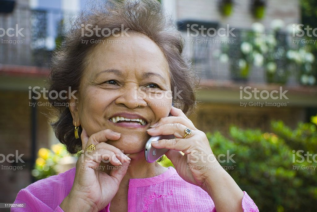 Calling Home royalty-free stock photo