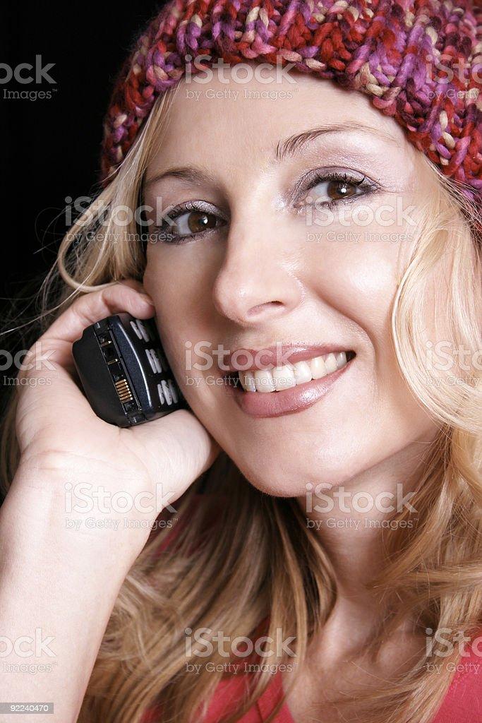 Calling you stock photo