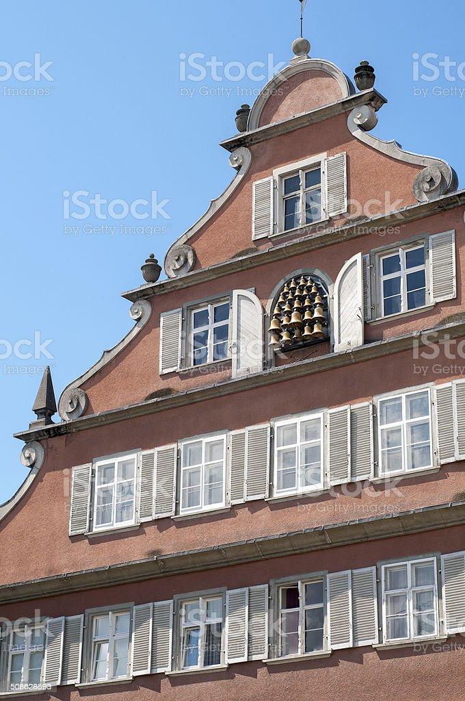 Callirion at the new Town Hall Lindau stock photo