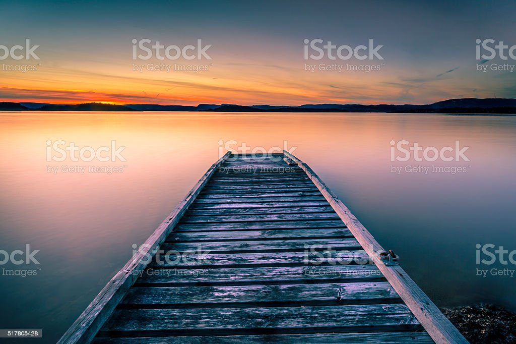 Calm and Peaceful stock photo
