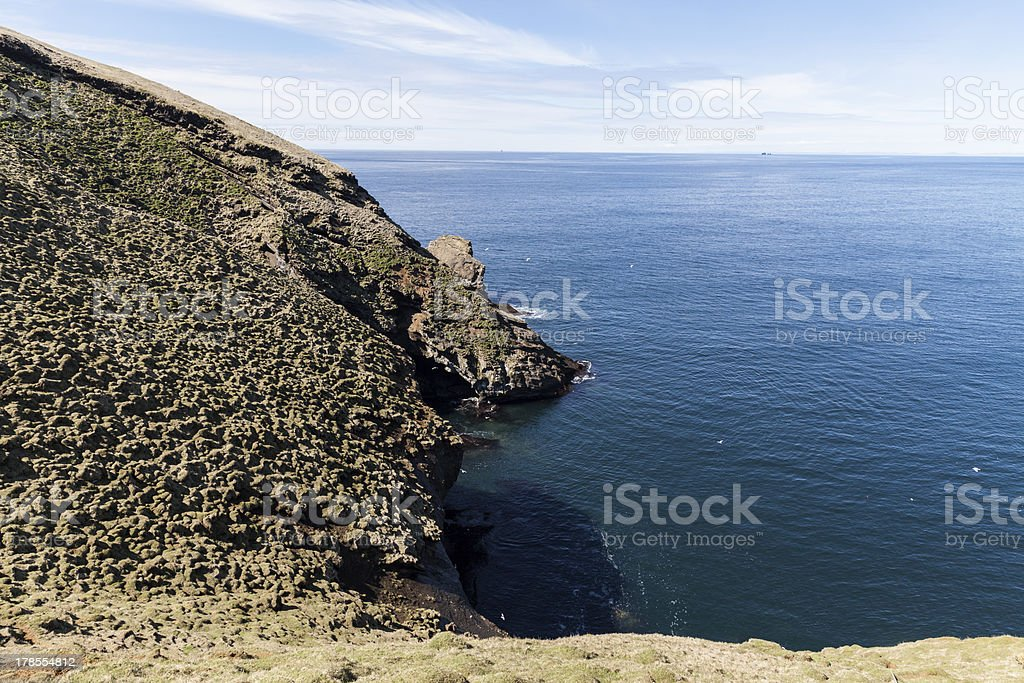 Calm Atlantic ocean royalty-free stock photo