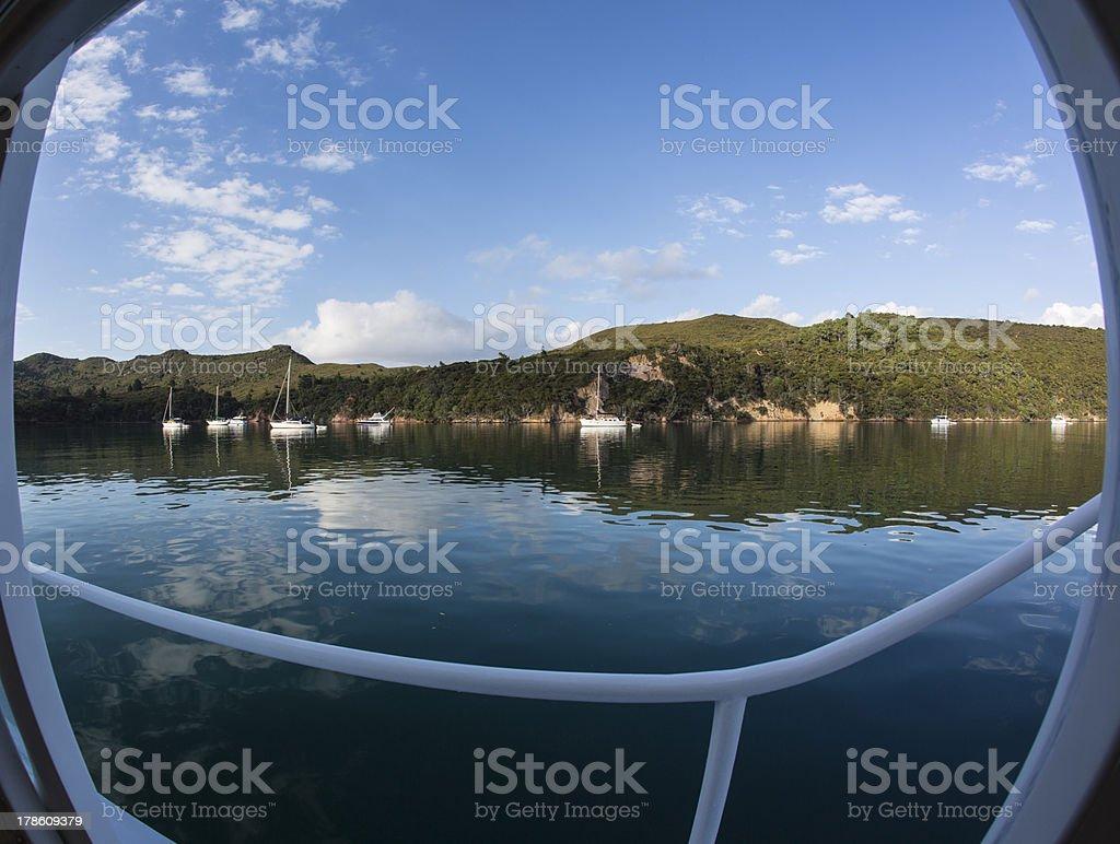 Calm Bay View royalty-free stock photo