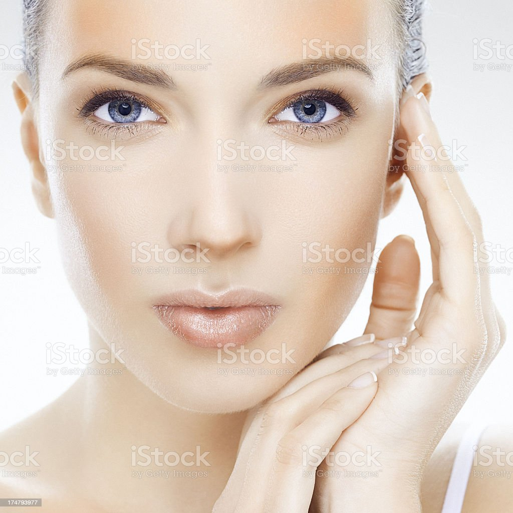 Calm beauty royalty-free stock photo