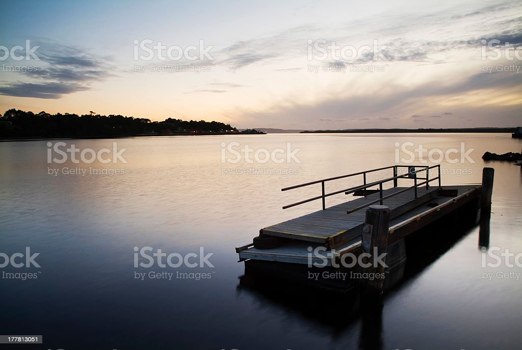 Calm Dusk stock photo