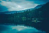 Calm Lake Scenery