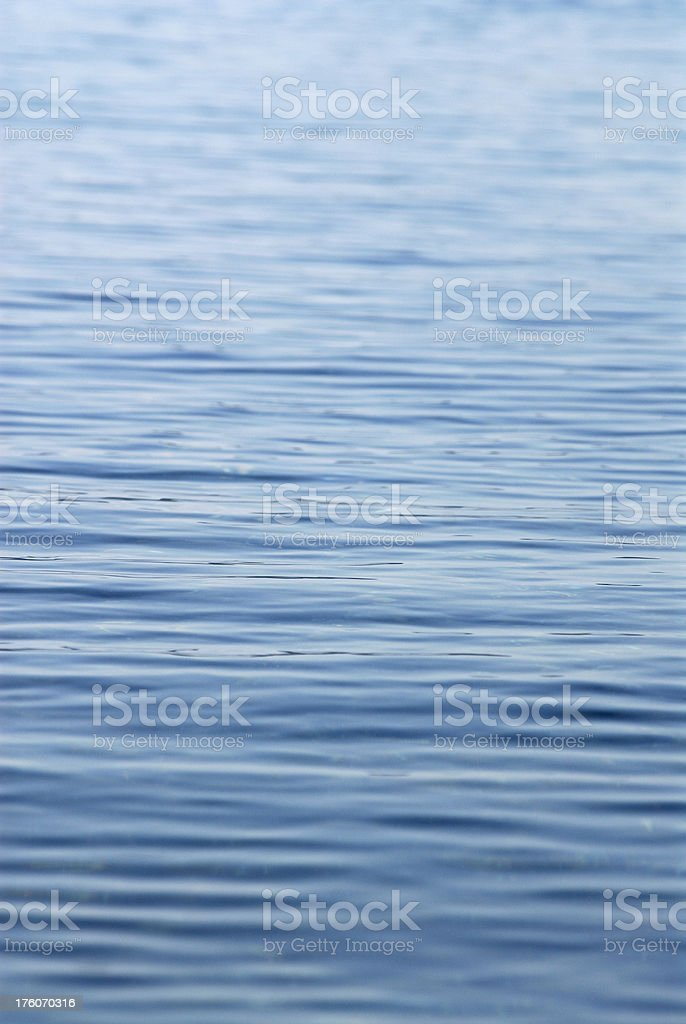 Calm Lake Water Surface royalty-free stock photo