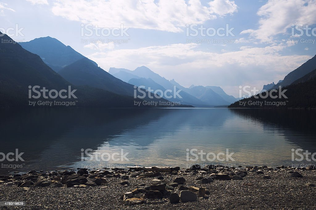 Calm Mountain Lake royalty-free stock photo
