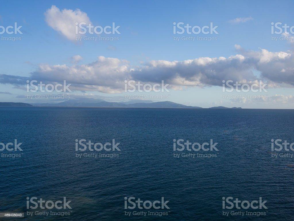 Calm Ocean Of Australia stock photo