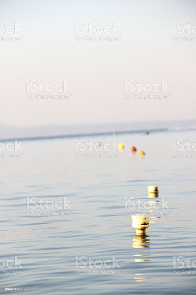 Calm sea royalty-free stock photo