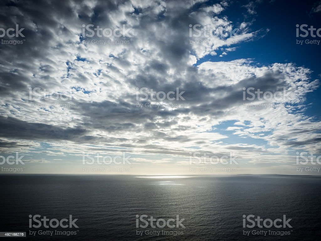 Calm sea stock photo