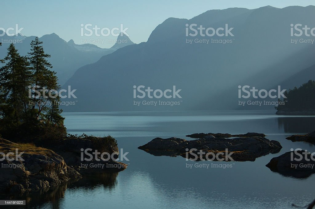 Calm view royalty-free stock photo