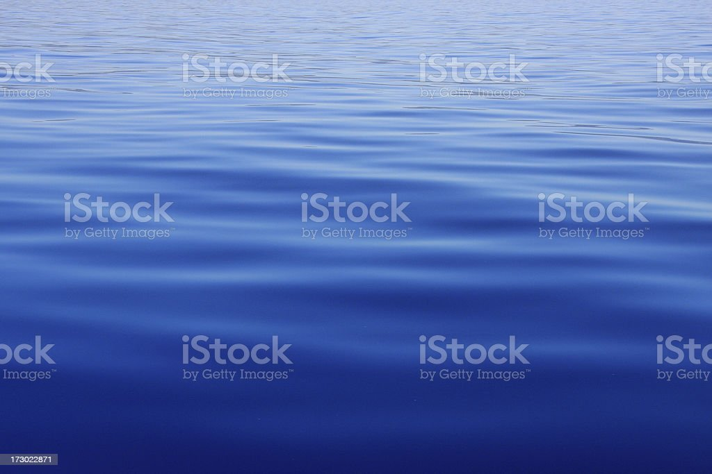 Calm water stock photo