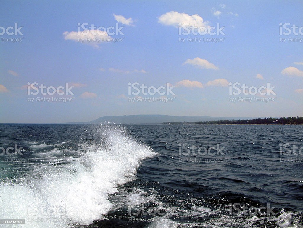 Calm Wave royalty-free stock photo