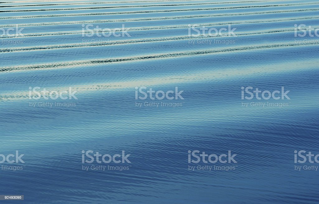 calm waves royalty-free stock photo