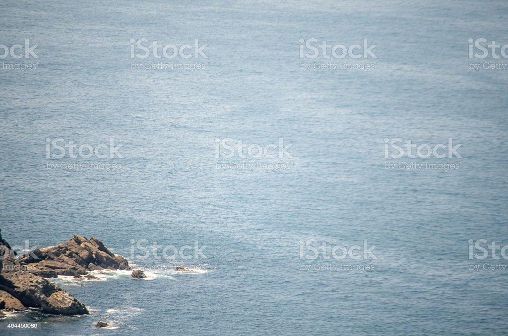 Calmed sea stock photo