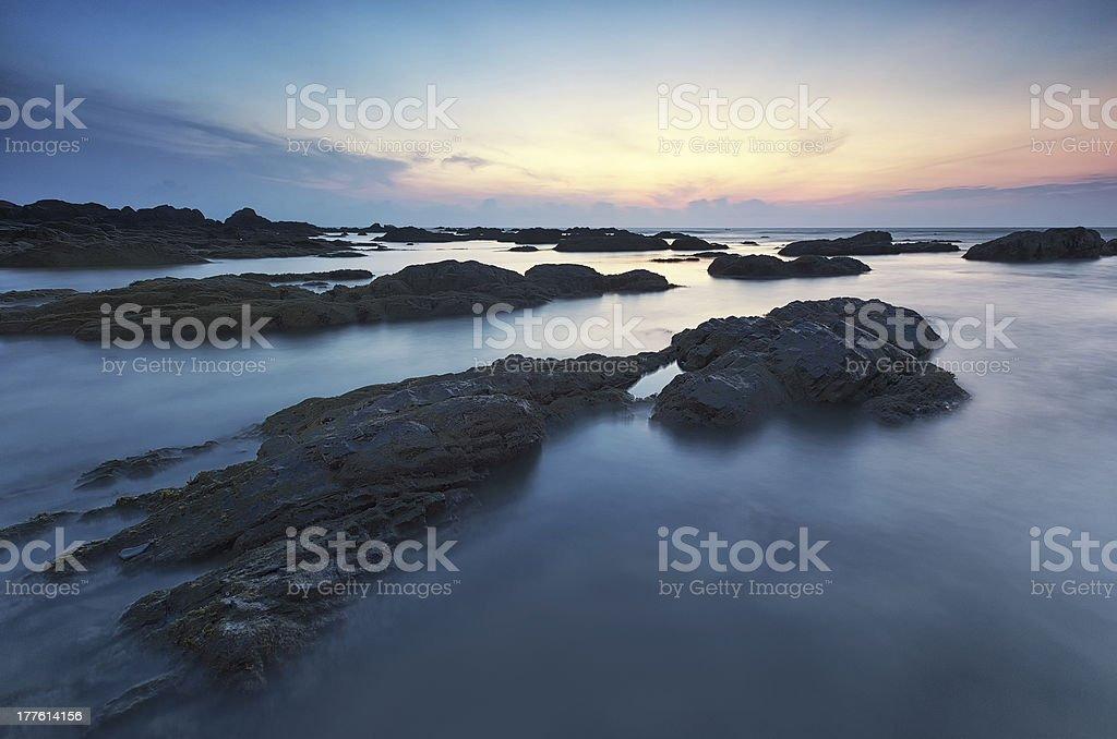 Calming Seas stock photo