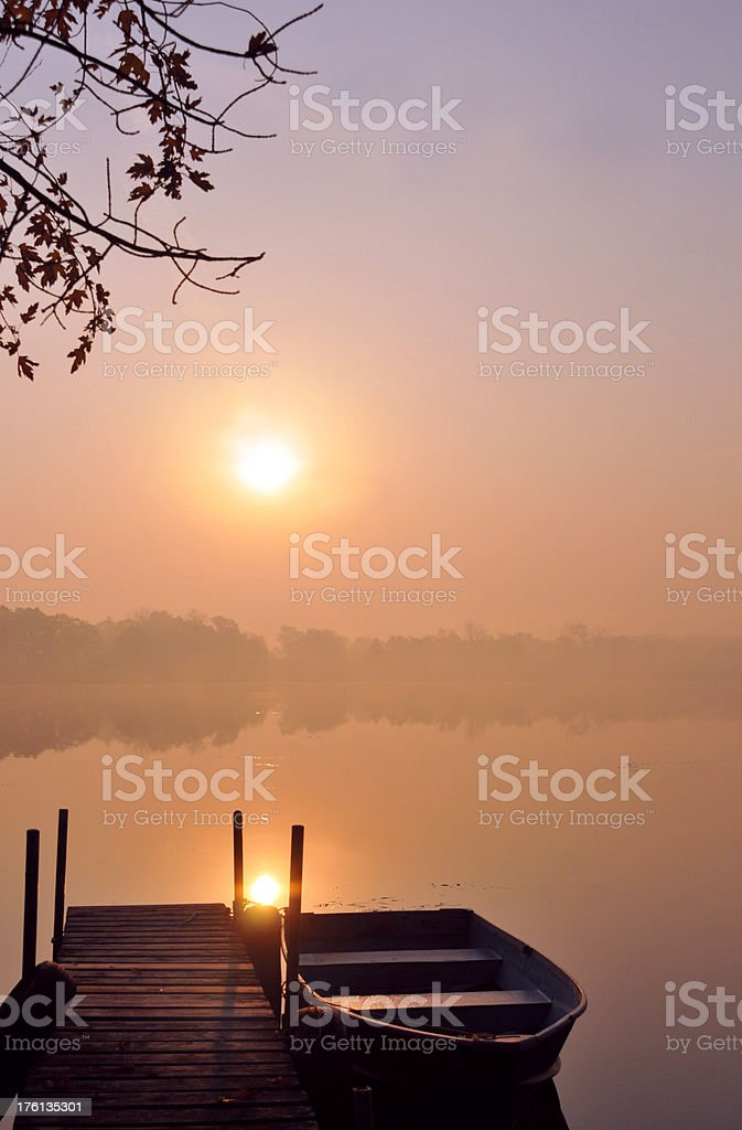Calming Waters stock photo
