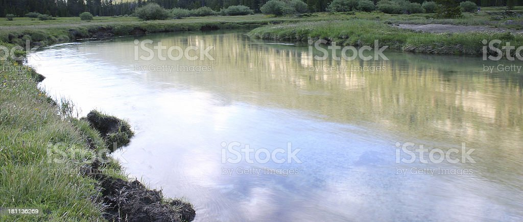 Calming Waters royalty-free stock photo