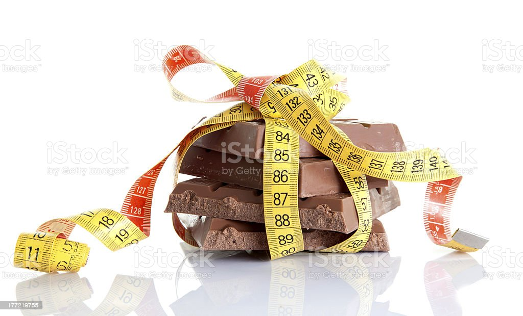 calorie plenty of gift royalty-free stock photo