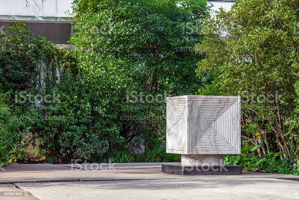Calouste Gulbenkian garden. Lisbon, Portugal stock photo