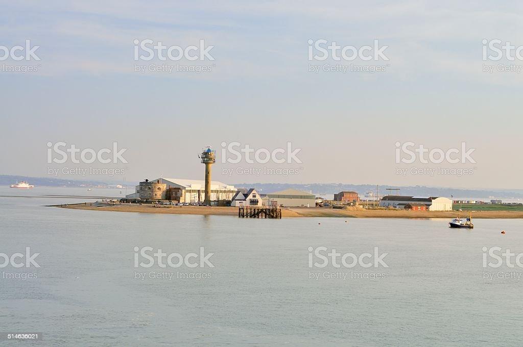 Calshot Tower stock photo