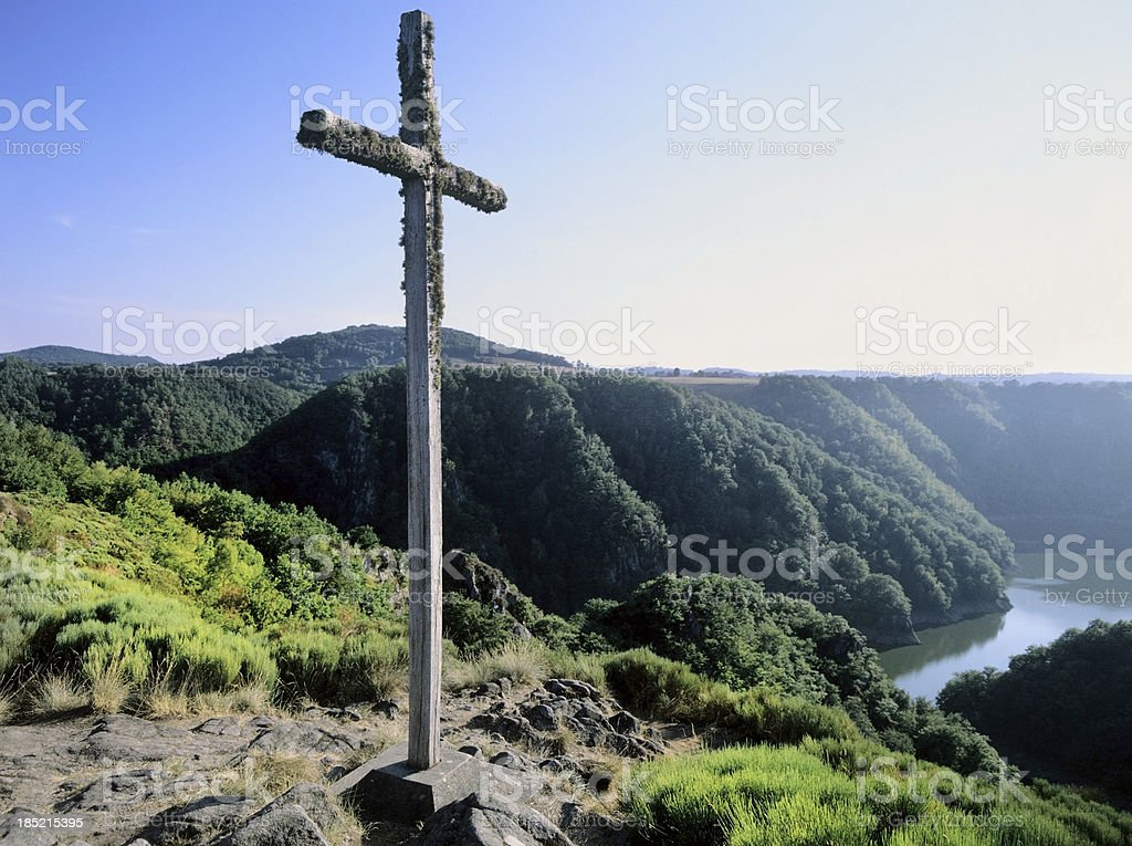 calvary stock photo