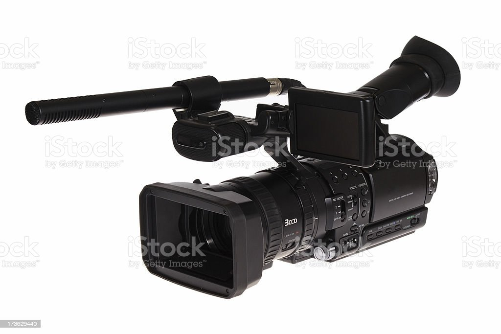 HD-TV Cam 1 stock photo