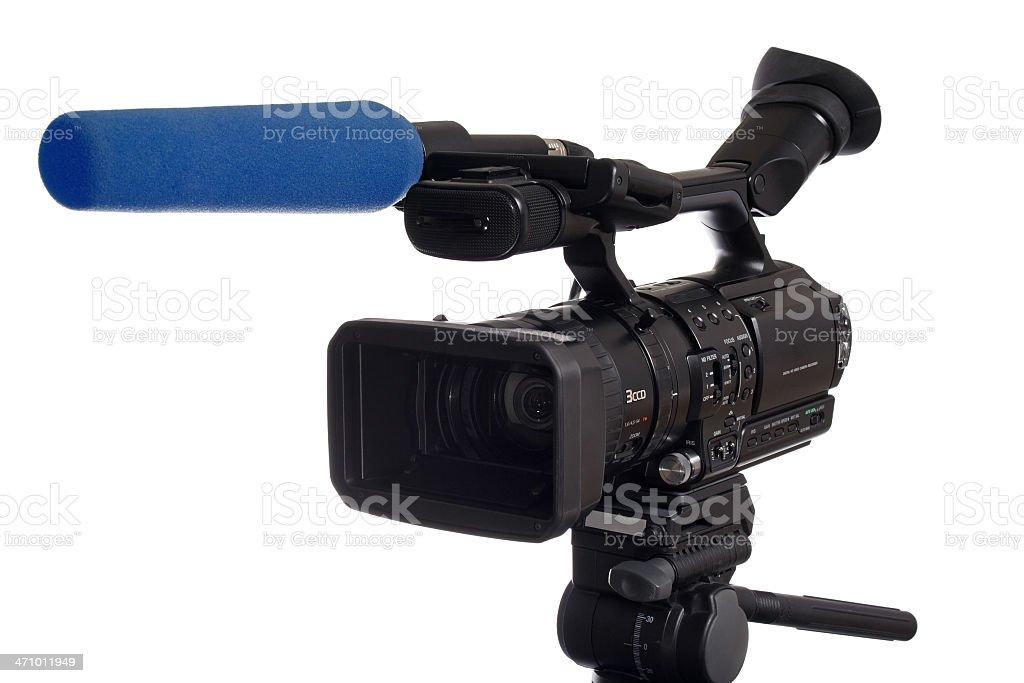 HD-TV Cam 2 (path) stock photo