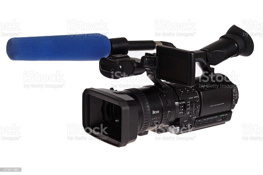 HD-TV Cam 3 (path) royalty-free stock photo