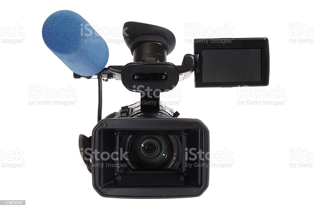 HD-TV Cam 4 (home cinema) stock photo