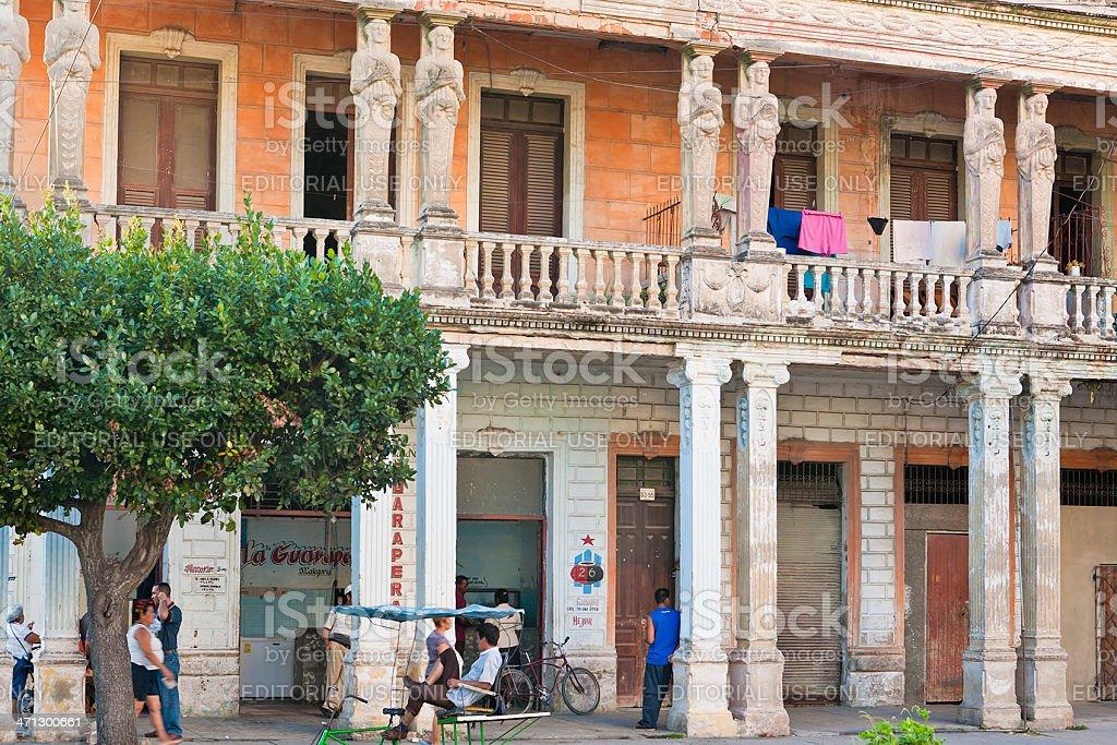 Camagüey City Life, Cuba stock photo