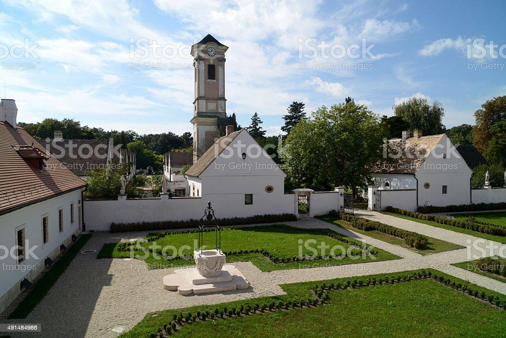 Camaldulian Hermitage, Majkpuszta stock photo